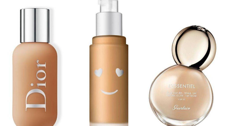 Bases de maquillaje de cobertura ligera.
