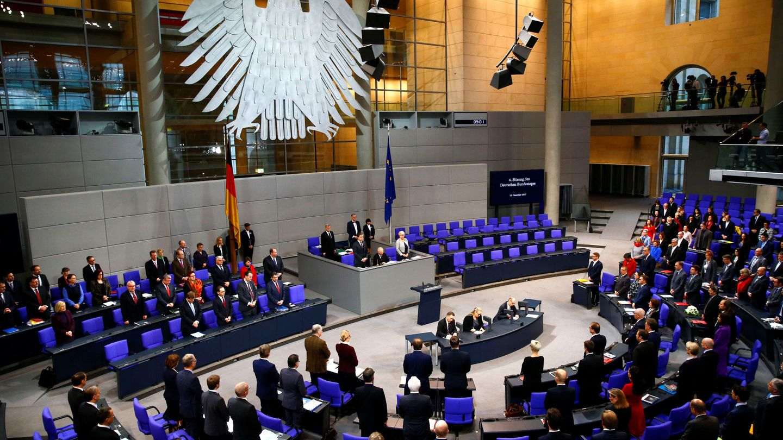 Debate en el Bundestag, el 12 de diciembre de 2017. (Reuters)