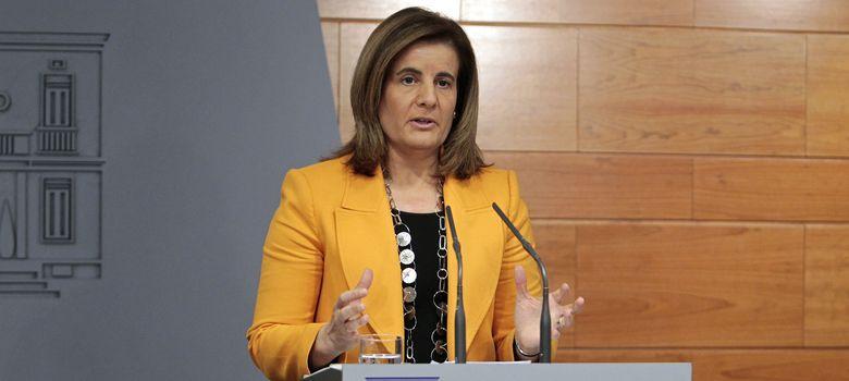 Foto: La ministra de Empleo, Fátima Báñez (EFE)