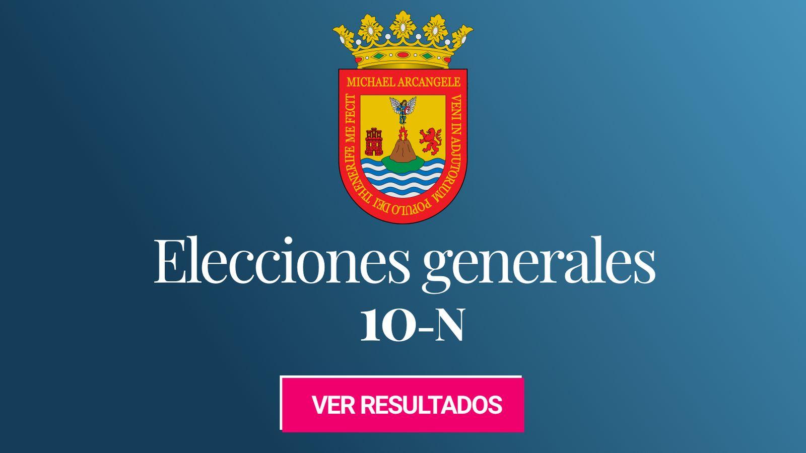 Foto: Elecciones generales 2019 en San Cristóbal de La Laguna. (C.C./EC)