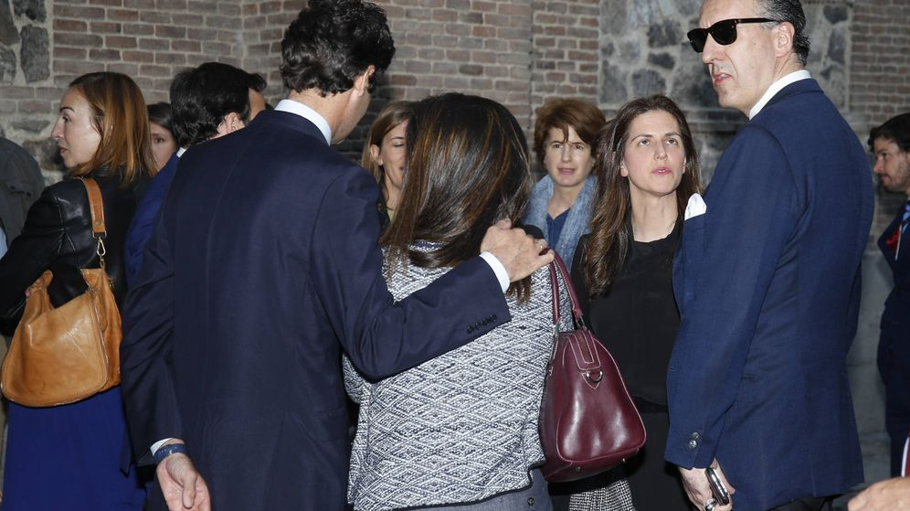 Foto: Jaime de Marichalar y familiares, en el funeral de Luis Ignacio. (Gtres)