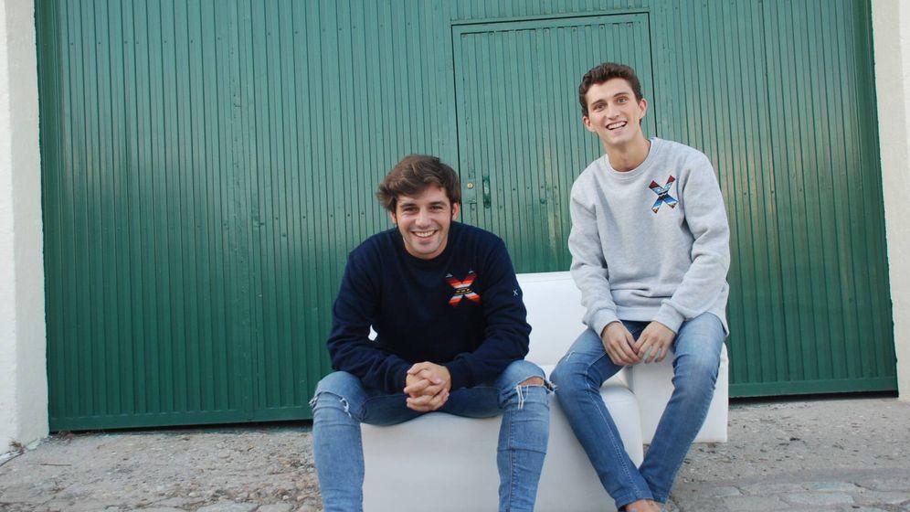 Foto: Nacho Rivera y Juan Fernández Estrada son los fundadores de Blue Banana Brand.