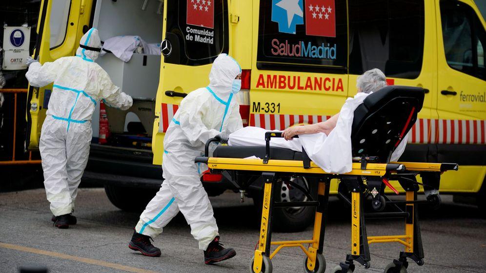 Foto: Las hospitalizaciones no han parado de crecer en Madrid desde principios de agosto. (Reuters)