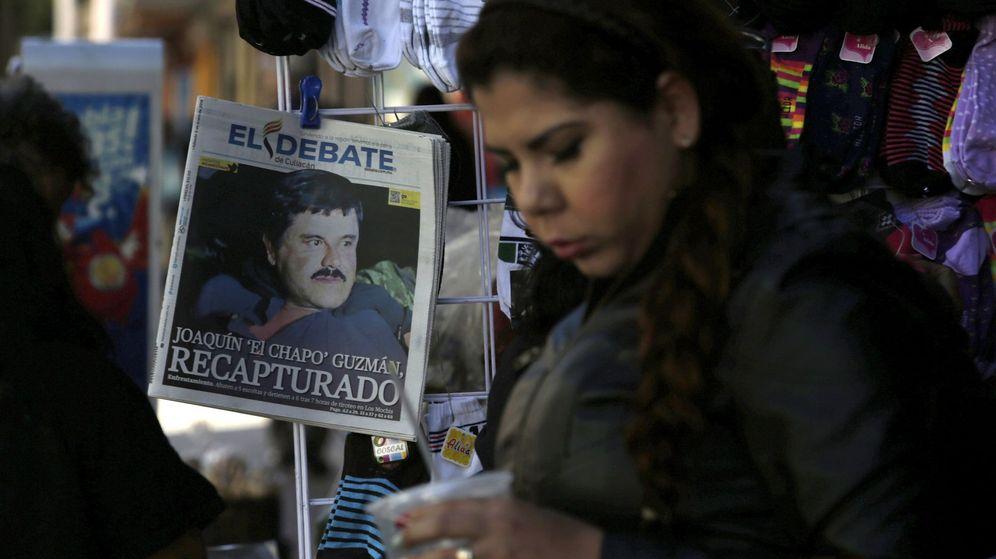 Foto: Imagen de la portada de 'El Debate' con la noticia sobre la detención de 'el Chapo' Guzmán. (Reuters)