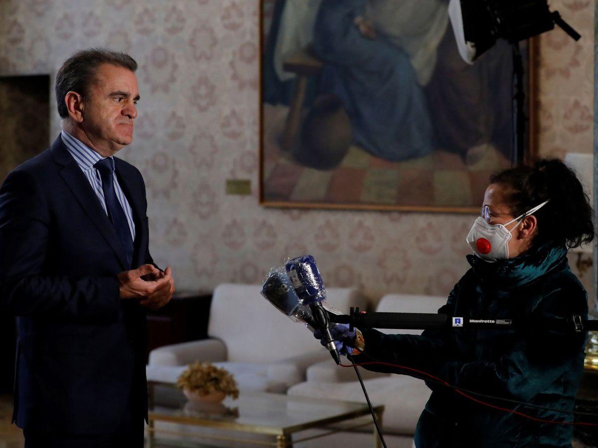 Foto: El delegado del Gobierno en Madrid, el socialista José Manuel Franco. (EFE)