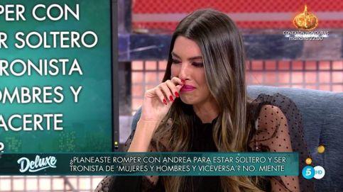 Andrea se rompe en el 'Deluxe' por las mentiras de Óscar