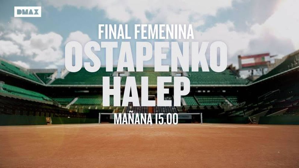 DMAX emite este sábado la final femenina de Roland Garros