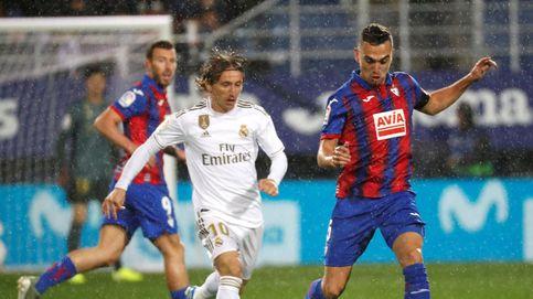 Eibar - Real Madrid en directo: resumen, goles y resultado