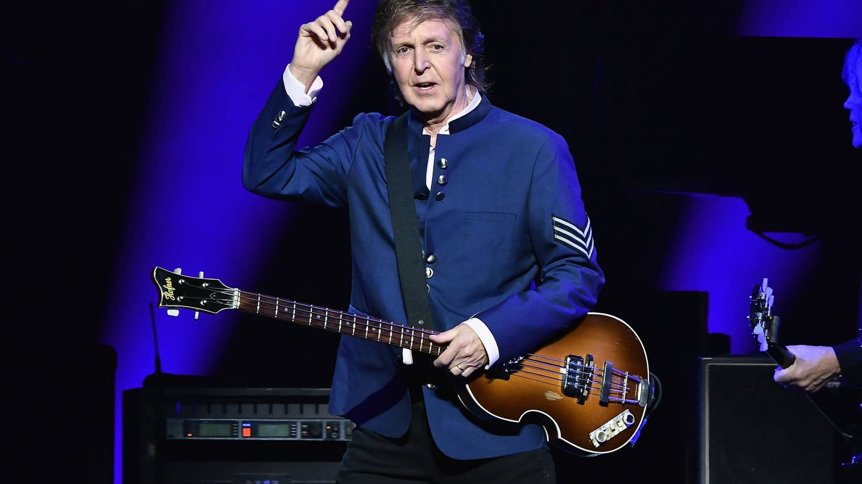 Paul McCartney de The Beatles. (Getty)