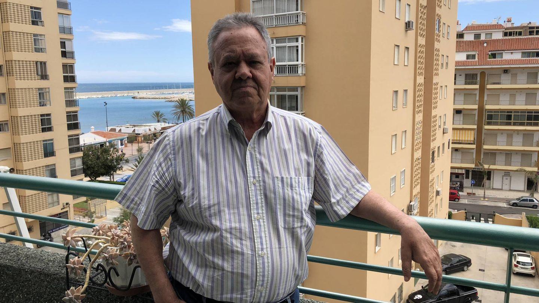 Fernando Camacho, 'El chino', esta semana, en su casa de Fuengirola. (Agustín Rivera)