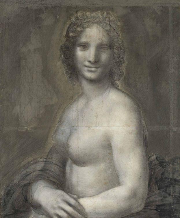 Foto: El carboncillo de la 'Mona Vanna'. (CC)