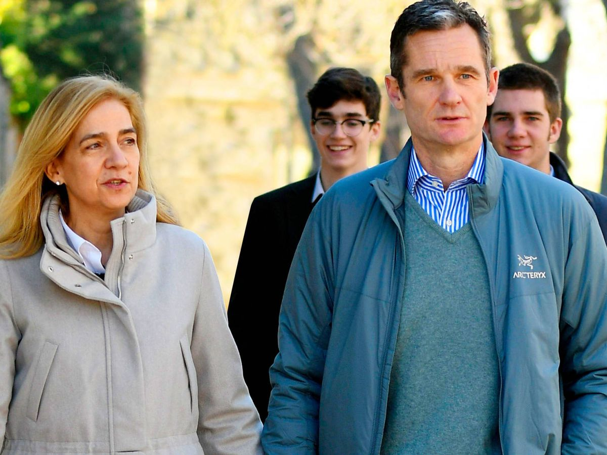 Foto: La Infanta Cristina e Iñaki Urdangarin, en una imagen de archivo. (Getty)