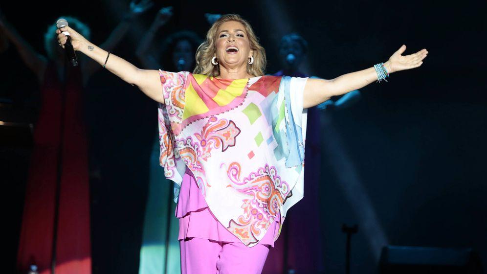 Foto: Romina Power, durante una actuación en España en 2014. (Getty)
