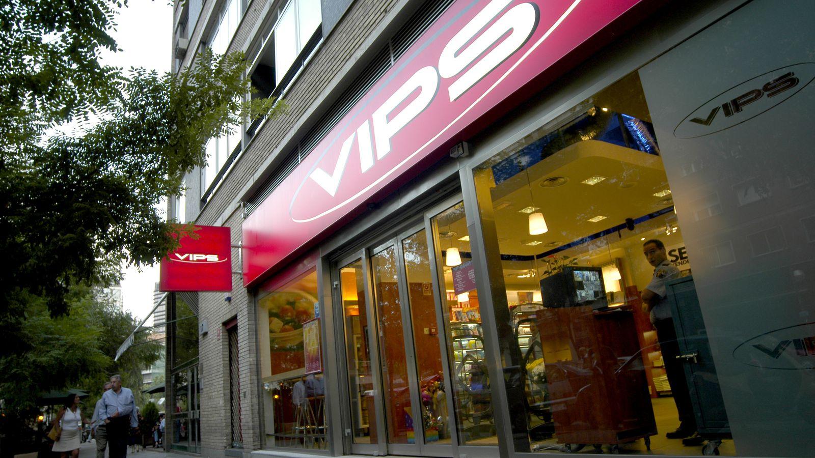 Foto: El grupo VIPS cuenta con más de 360 establecimientos.