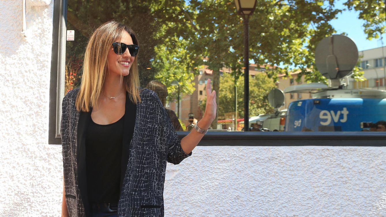 Foto: Helen Lindes paseando por las calles de Madrid (Gtres)