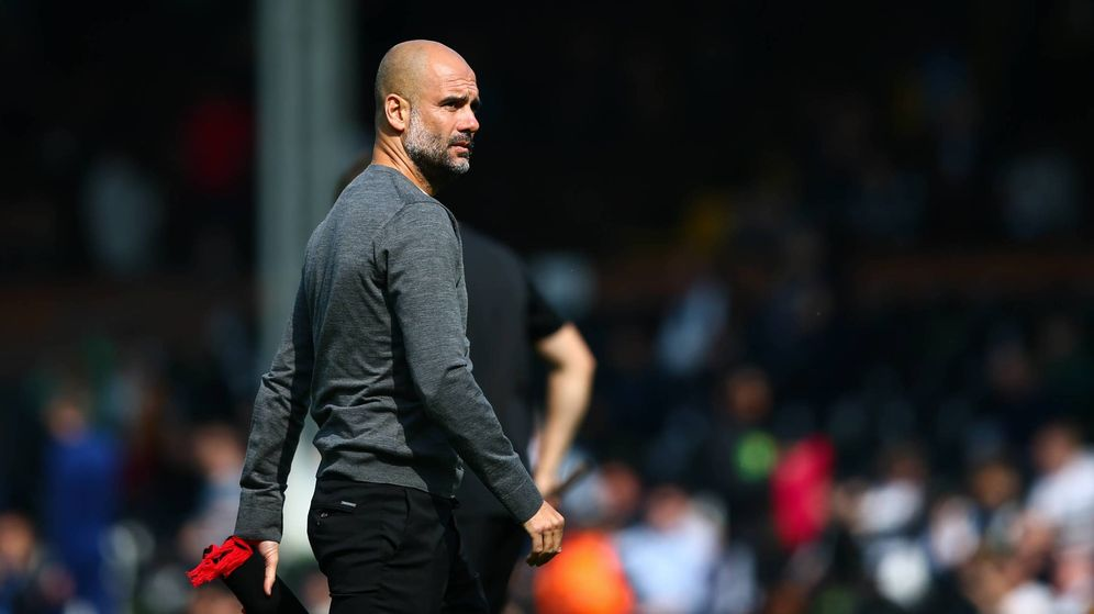 Foto: Pep Guardiola, en un partido reciente de la Premier League. (Cordon Press)
