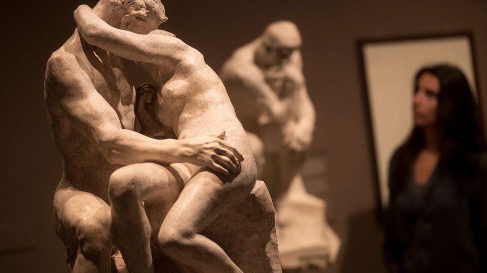 Foto: Exposición de Rodin en la Fundación Mapfre. (EFE)