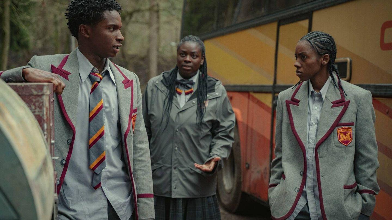 Imagen de la tercera temporada de 'Sex Education'. (Netflix)