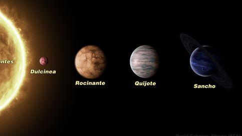 La estrella Cervantes y los planetas del Quijote ya lucen en el cielo