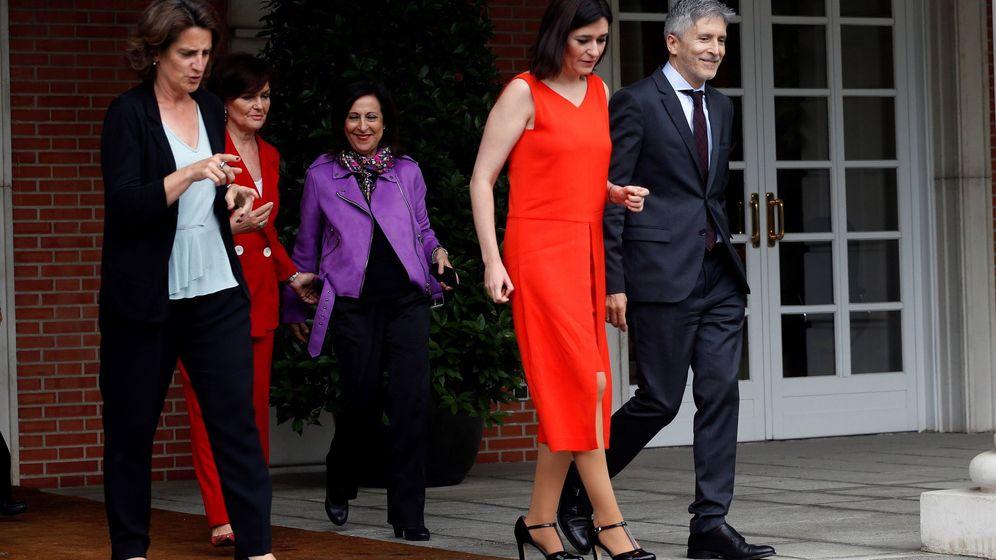 Foto: Foto de familia tras el Consejo de Gobierno. (EFE / Chema Montoya)