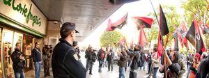 Foto: Inditex, Mercadona o El Corte Inglés pasan por encima de la huelga