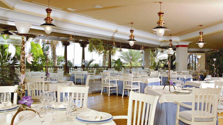 El restaurante Isla de Lobos del hotel Princesa Yaiza.
