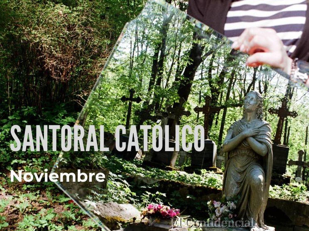 Foto: Santoral Católico de noviembre. (EC)