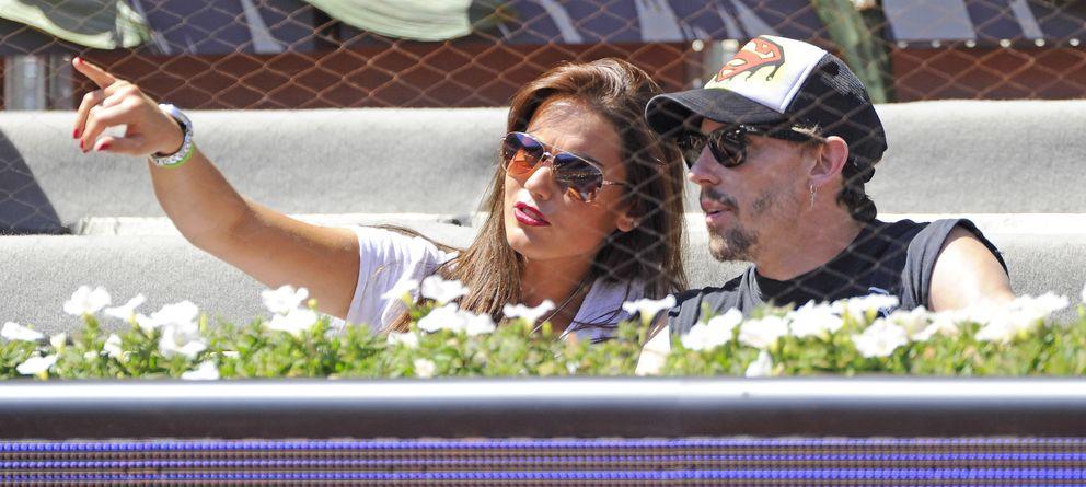 Foto: Lara Álvarez y Adrián Lastra el pasado mes de mayo en el Madrid Open (Gtres)