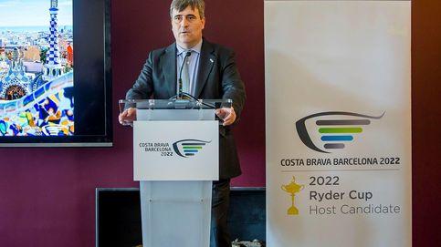 Cardenal recibe en Cataluña a los miembros de la Copa Ryder de golf