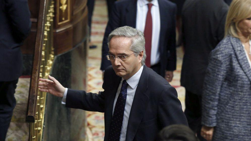 Foto: El diputado popular Pedro Gómez de la Serna, excluido del grupo por sus negocios en el extranjero. (EFE)