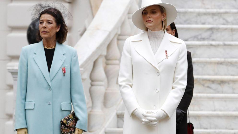 Charlène de blanco y Carolina con velo: Mónaco celebra su Día Nacional