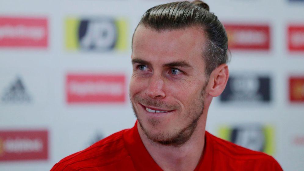 Foto: Gareth Bale en la concentración de la Selección de Gales. (Reuters)