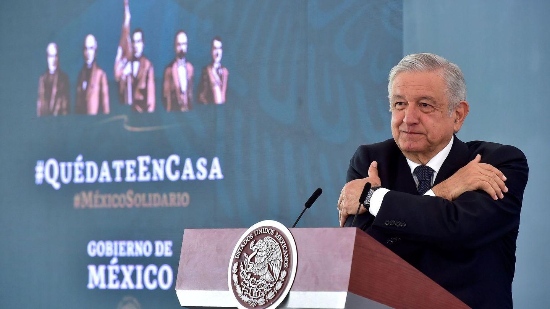 El presidente mexicano, AMLO. (EFE)