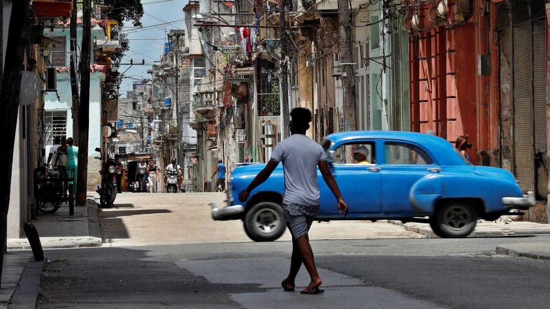 Foto: Vista general de una tradicional calle en La Habana Vieja. (EFE)