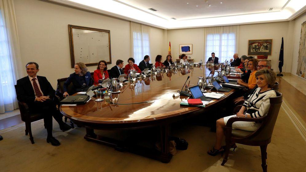 Foto: Consejo de Ministros. (EFE)