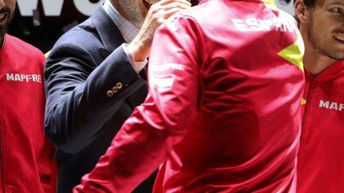 Los detalles de Rafa Nadal y el confeti en el pelo de Felipe VI
