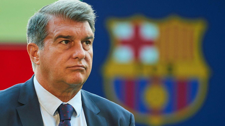 Foto: El presidente del Barcelona, Joan Laporta. (EFE)