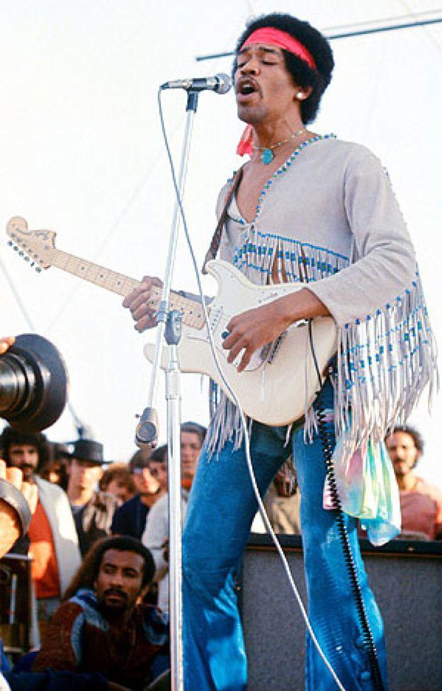 Foto: Jimi Hendrix, el mejor riff de la historia