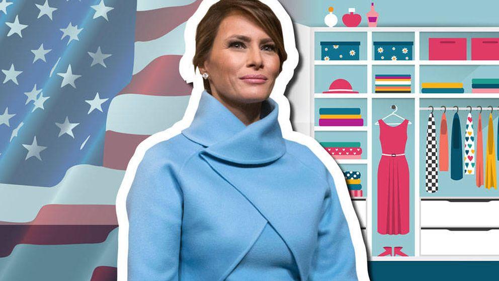 Melania Trump: descubre los secretos del exclusivo armario de la primera dama