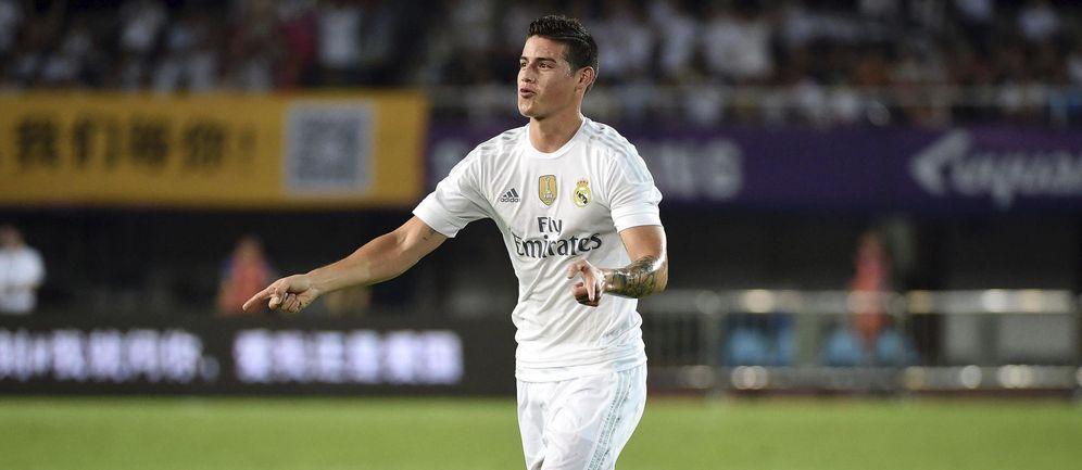 Foto: La continuidad de James Rodríguez en el Real Madrid cada día se complica más (EFE)