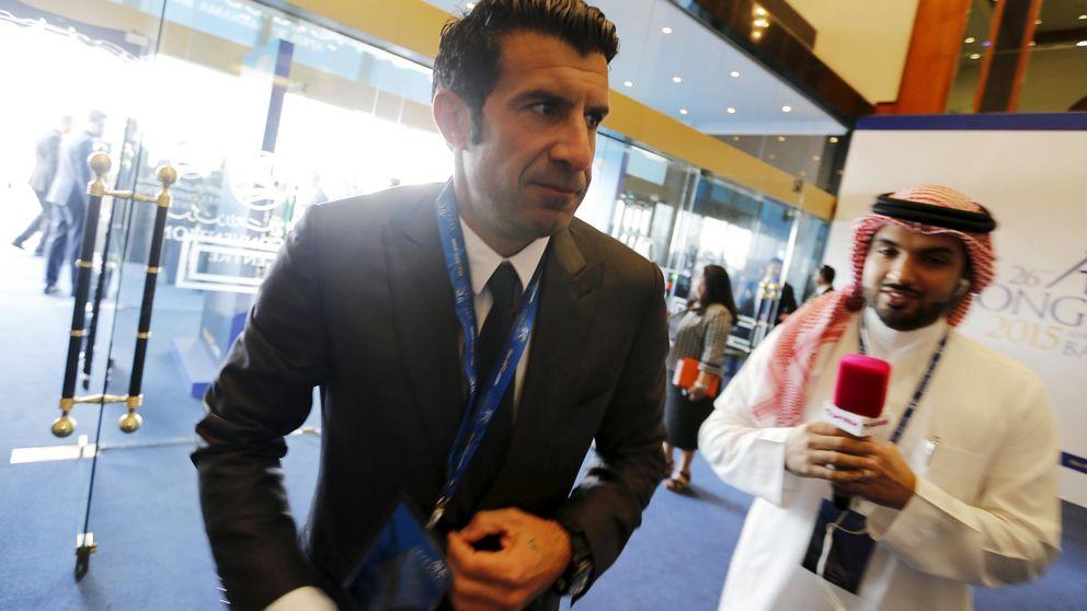Figo, sobre la reelección de Blatter: Otro día negro para la FIFA