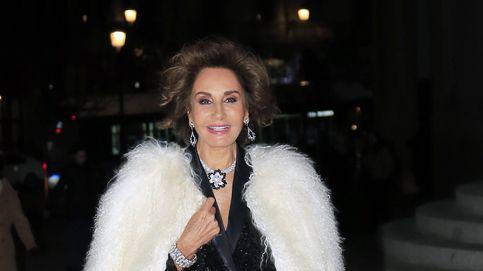 Naty Abascal se pasa al 'low cost' de Zara para el estreno de La Bohème en el Teatro Real