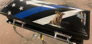 Post de Perro policía murió en acto de servicio y será enterrado en una caja personalizada