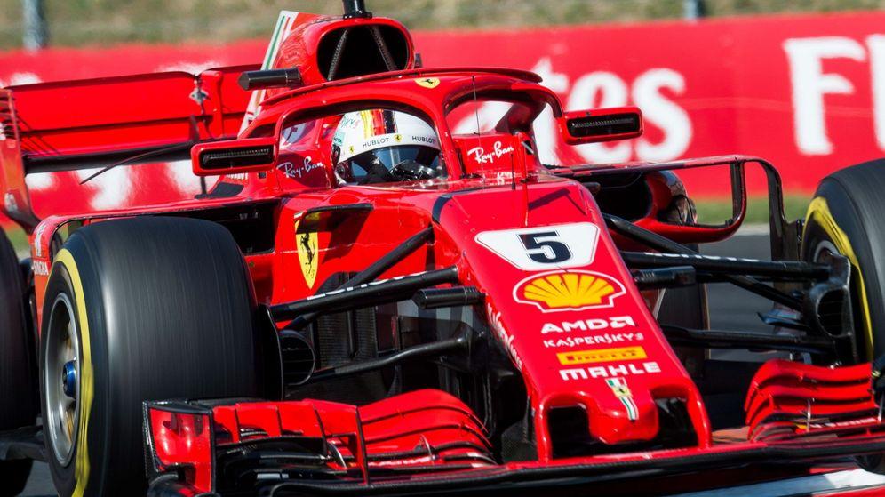 Foto: Vettel durante el GP de Hungría. (EFE)