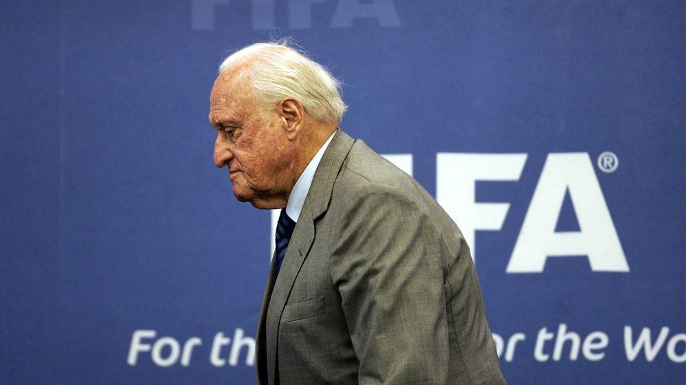 Foto: Joao Havelange, en un acto de la FIFA (EFE).