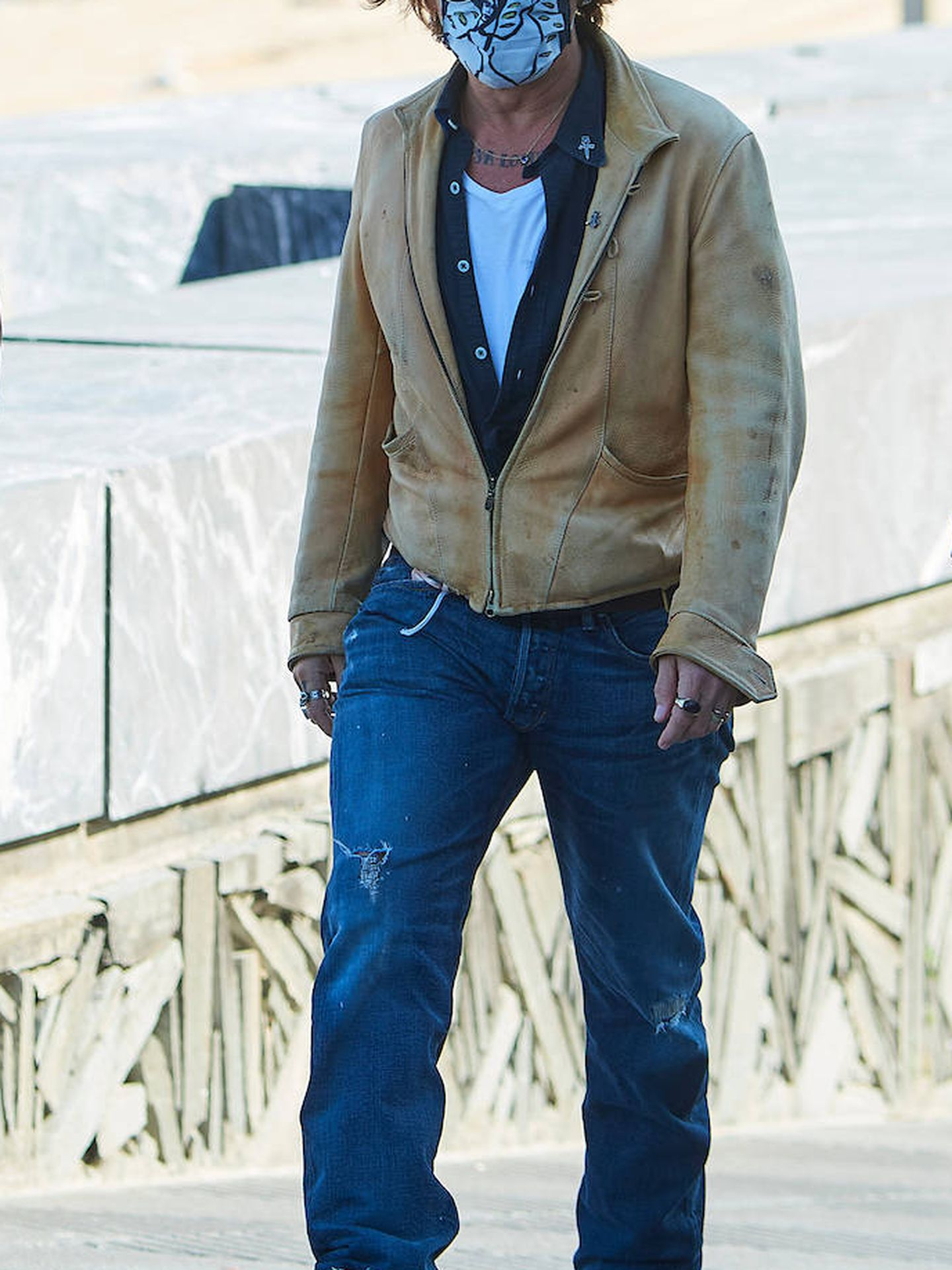 Johnny Depp en el Festival de Cine de San Sebastián. (Limited Pictures)
