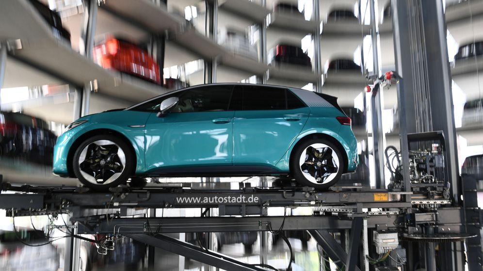 Foto: Nuevo automóvil eléctrico de Volkswagen. (Reuters)