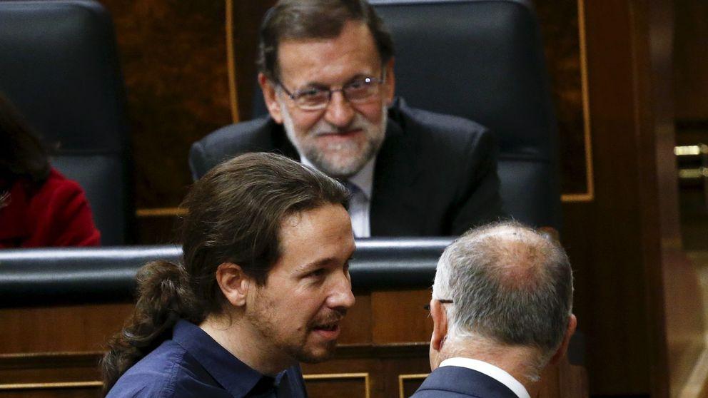 Sánchez: A lo mejor Pablo Iglesias acaba siendo la salvación de Rajoy