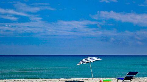 Sombrillas de Leroy Merlin tanto para playa como piscina