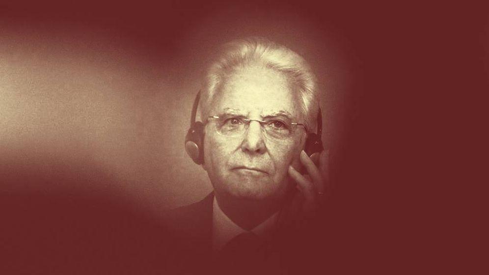 Foto: El presidente italiano, Sergio Mattarella. (EFE)